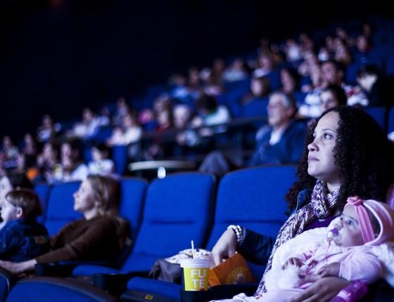 O filme exibido em cada sessão é escolhido por votação popular no site do CineMaterna (Foto: Divulgação)