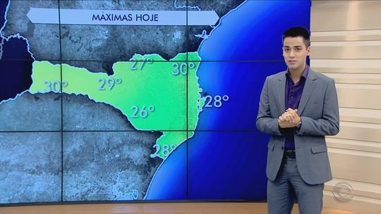 Após manhã fria nesta terça (14), SC terá temperaturas altas à tarde