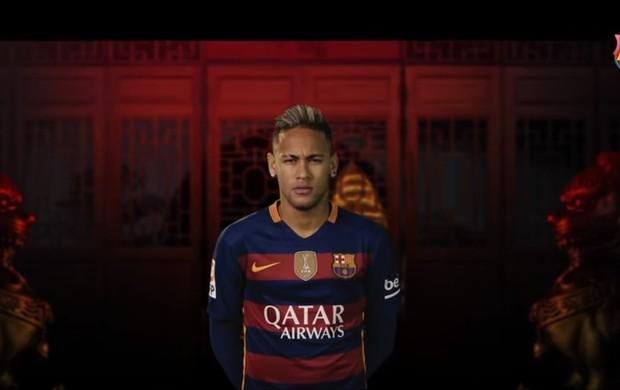 Neymar é destaque em vídeo do Barça para o público chinês