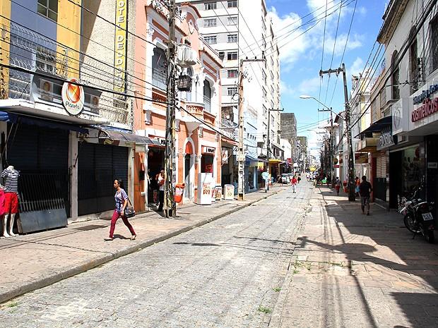 Lojas de rua poderão funcionar no feriado em São Luís (Foto: Biaman Prado / O Estado)