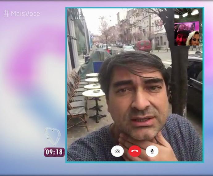 Zeca Camargo fala de atentados em Bruxelas (Foto: TV Globo)