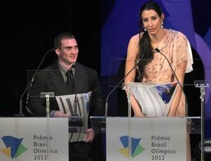 sheilla e Zanetti, Prêmio Brasil Olímpico  (Foto: Marcos de Paula / Agência Estado)