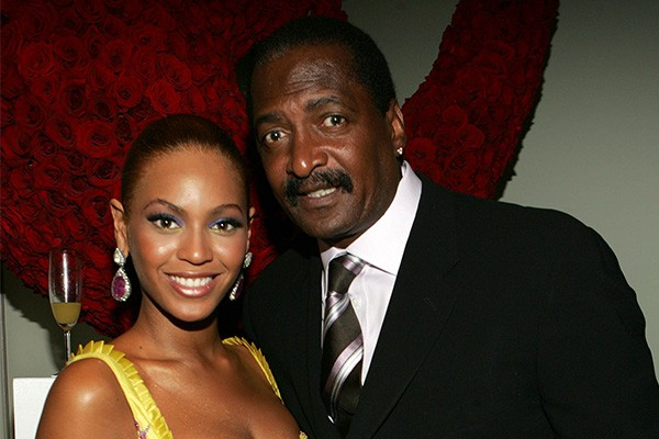 Beyonce e seu pai, Matthew Knowles (Foto: Getty Images)