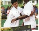 Rivais de longa data: veja foto de Djokovic e Monfils em torneio juvenil