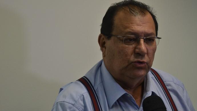 Geraldo Amorim, presidente do Murici (Foto: Jota Rufino/GloboEsporte.com)