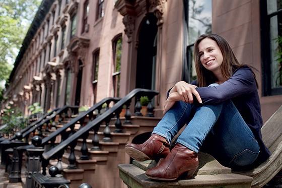 OLHAR MASCULINO Adelle Waldman, a criadora do personagem Nathaniel. Ela descreve bem como relações avançam e morrem (Foto: Melanie Burford/Prime for The Washington Post via Getty Images)