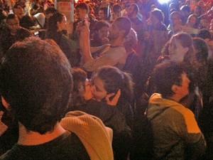 beijaço gay feliciano protesto (Foto: Paulo Toledo Piza/G1)