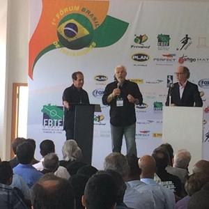 Muricy Leao fórum de treinadores (Foto: Carlos Augusto Ferrari)