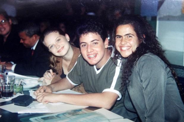 Os jurados do concurso: Fernanda Rodrigues, Bruno De Luca e Danielle Favato, ex-mulher de Romário (Foto: Cleomir Tavares/Divulgação)