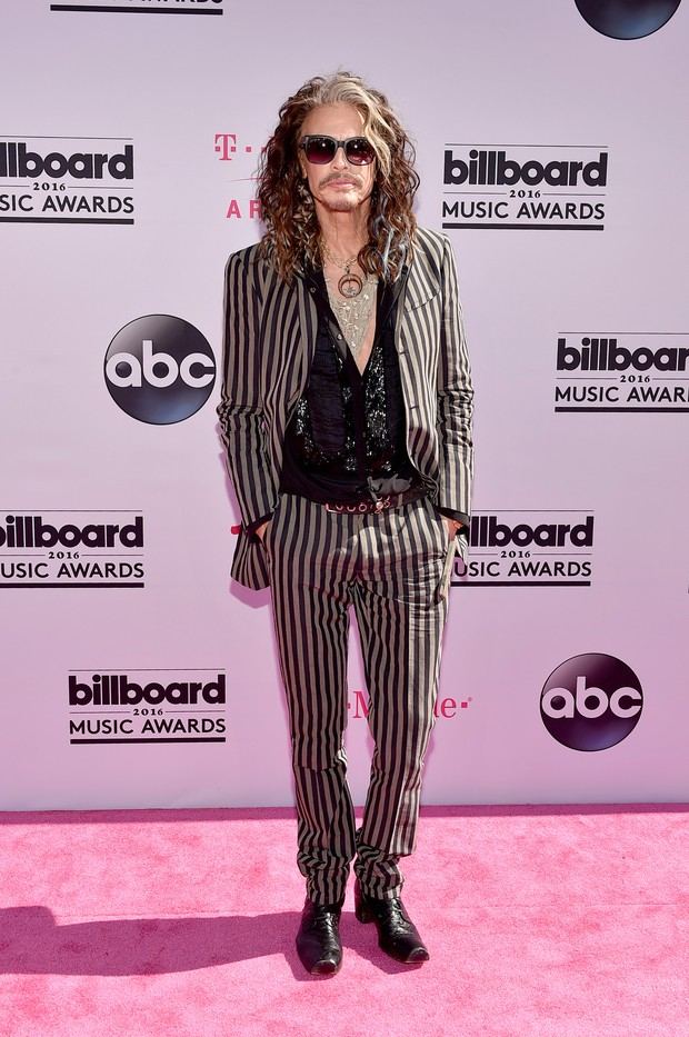 Steven Tyler no Billboard Music Awards (Foto: AFP)