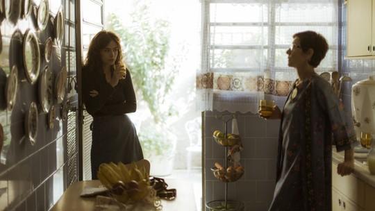 Rimena discute com Vera: 'Quer destruir meu casamento?'