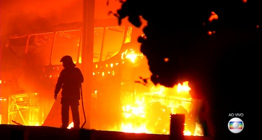 caos no Rn (Corpo de Bombeiros/Divulgação)