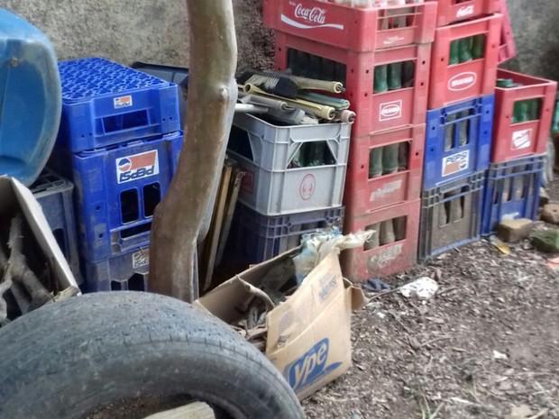 lixo bom despacho (Foto: Prefeitura Bom Despacho/Divulgação)