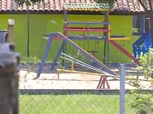 Escola infantil em Campinas (Foto: Reprodução/ EPTV)