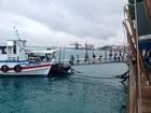 Maré baixa encerra travessia entre Salvador e Mar Grande mais cedo