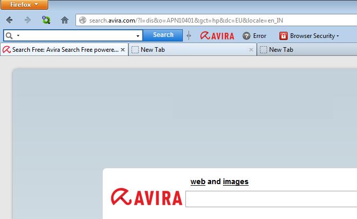 Avira SearchFree Toolbar instalada no Firefox (Foto: Divulgação/Avira)