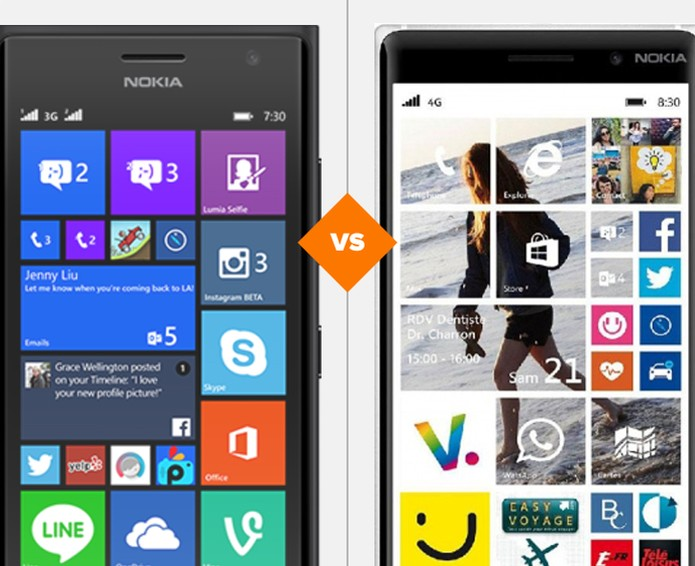 Lumia 730 ou 830, qual é a melhor opção (Foto: Arte/TechTudo)