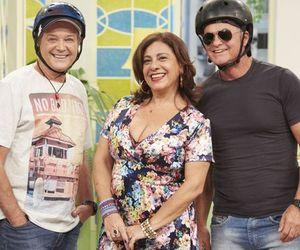 No Vai Que Cola, André De Biase e Kadu Moliterno revivem parceria de Armação Ilimitada com Catarina Abdalla