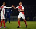 Monaco abre 3 a 0, sofre empate aos 48 e avança na prorrogação na Copa