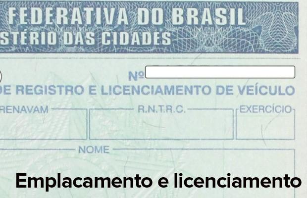 Emplacamento e licenciamentos também são exigidos para as 'cinquentinhas' (Foto: Divulgação/Detran-AL)