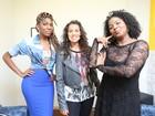 Hoje o The Voice Web é das mulheres! Fernanda Souza recebe trio feminino