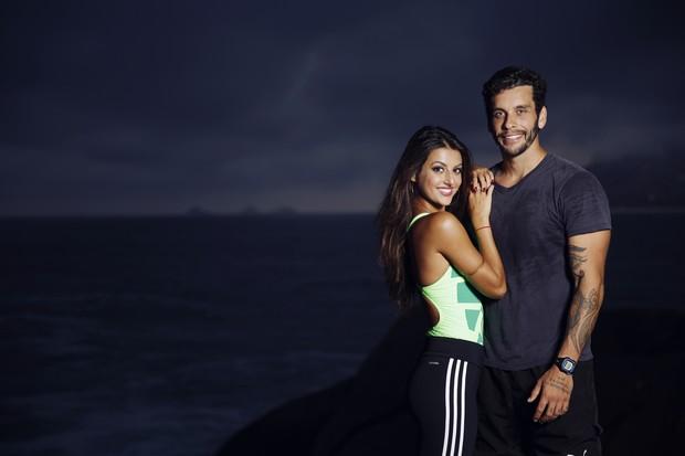 Anajú Dorigon e Pedro Pires (Foto: Marcos Serra Lima / EGO)
