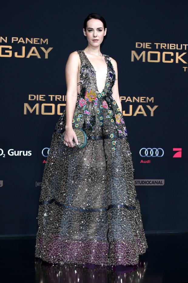 Jena Malone na pré-estreia de Jogos Vorazes: A Esperança - Parte 2, em Berlim (Foto: Getty Images)