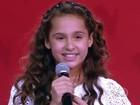 Ana Beatriz, participante do The Voice Kids, faz show gratuito em Goiânia