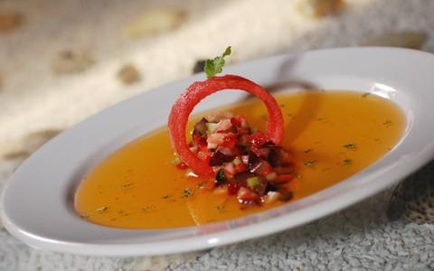 Salada de frutas com melancia