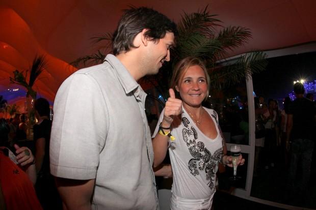 Vladimir Brichta e Adriana Esteves (Foto: Claudio Andrade / FotoRioNews)