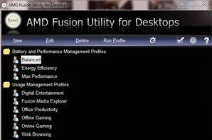 AMD Fusion Utility for Desktop, otimizar PC