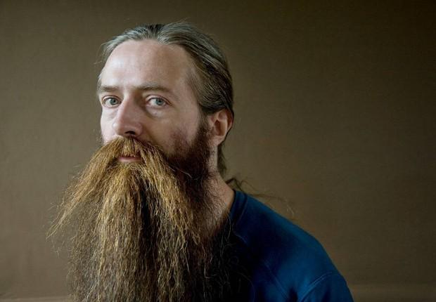 O gerontologista britânico Aubrey de Grey: futuro com seres humanos livres de doenças e vivendo até mil anos (Foto: Reprodução/Facebook)