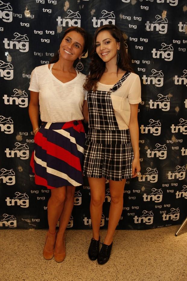 Giovanna Antonelli e Tainá Müller  (Foto: Felipe Panfili / AgNews)