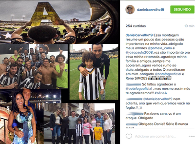 Montagem Daniel Carvalho Instagram (Foto: Reprodução/Instagram)