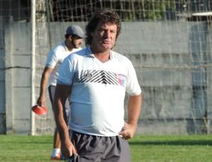Tupãzinho técnico Grêmio Prudente (Foto: Ronaldo Nascimento / GloboEsporte.com)
