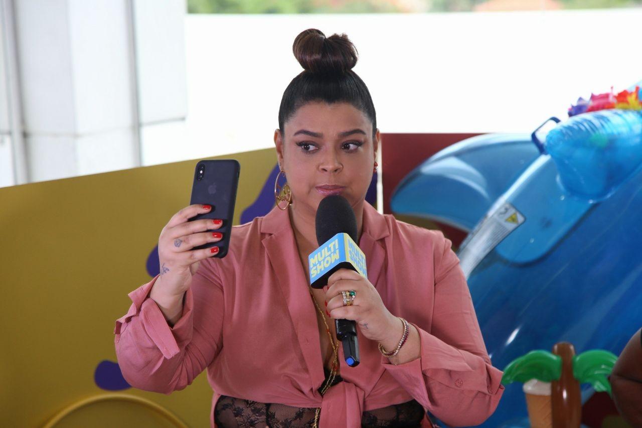 Preta Gil lana o clipe de 'Cheia de Desejo' no TVZ Vero (Foto: Fabiano Leone/Multishow)