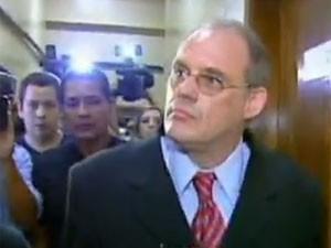 Ricardo Neis, investigado por atropelar ciclistas em Porto Alegre  (Foto: TV Globo/Reprodução)