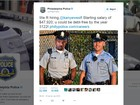 Polícia da Filadélfia oferece emprego a Kanye West