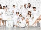 Kim Kardashian divulga cartão de Natal da família em seu site