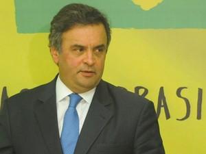 O senador Aécio Neves, presidente nacional do PSDB (Foto: Jose Cruz/ABr)