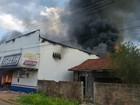 Incêndio destrói loja de móveis e eletrodomésticos em Candeias, RO