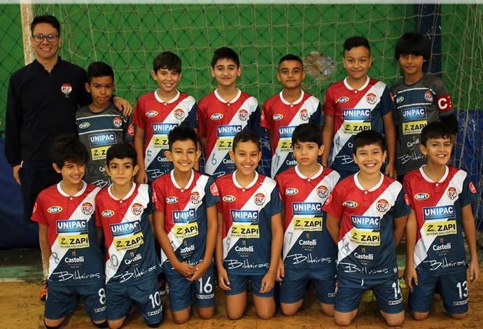 Uberlândia Futsal sub-11 (Foto: Uberlândia Futsal/Divulgação)