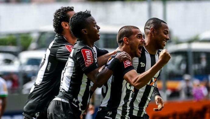 Cazares, Clayton, Robinho Atlético-MG (Foto: Bruno Cantini/ Flickr Atlético-MG)