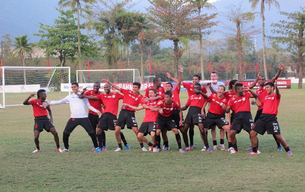 Flamengo rachão (Foto: Richard Souza / Globoesporte.com)