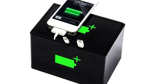 A Carrega+Box tem bateria com duração de até 22 horas e é o principal produto destinado à locação (Foto: Divulgação)