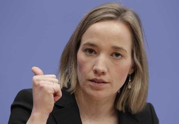 Ministra alemã da Família, Kristina Schroeder, em foto de 24 de setembro (Foto: Reuters)