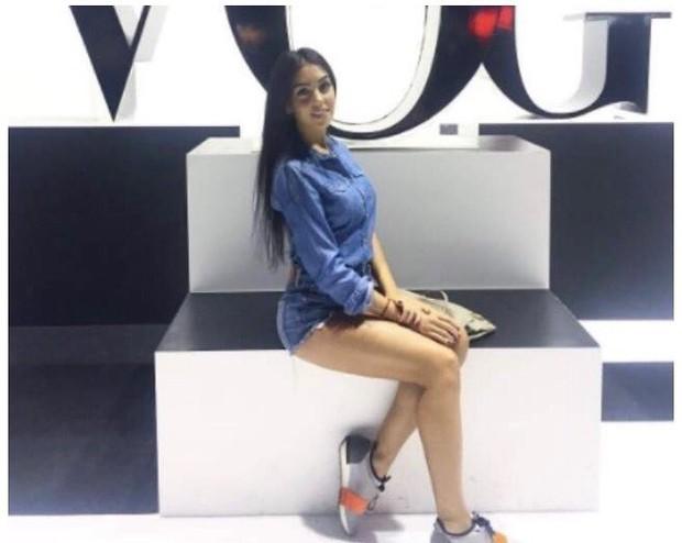 Georgina Rodriguez, a nova namorada do jogador português Cristiano Ronaldo, é espanhola e tem 21 anos (Foto: Reprodução do Instagram)