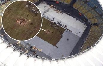 Rio 2016: buraco no gramado do Maracanã some em até 15 dias