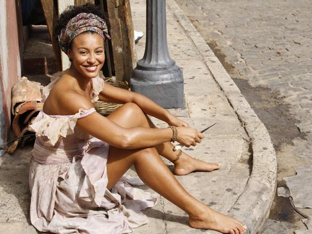 Berenice (Foto: Lado a Lado/TV Globo)