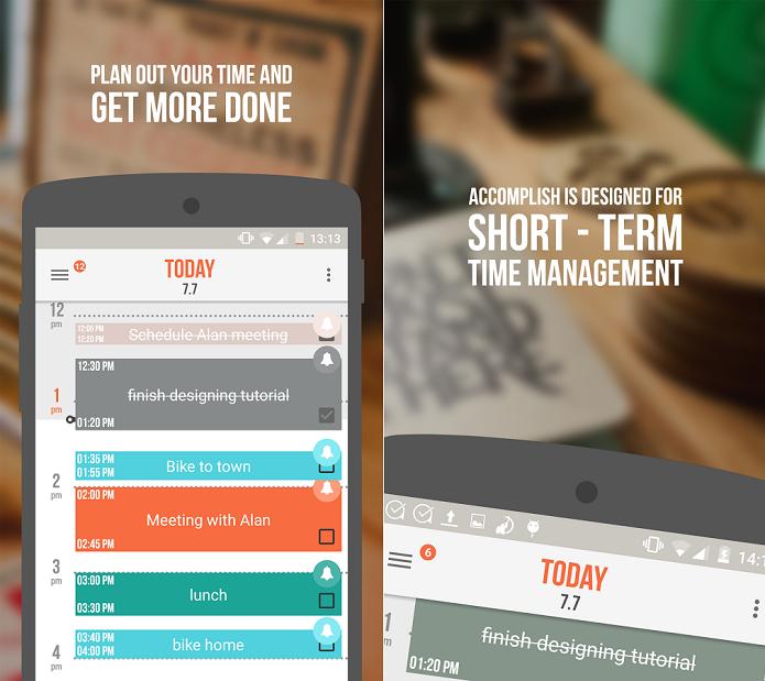 Accomplish é um ótimo app de anotações (Foto: Divulgação/Accomplishment Software)